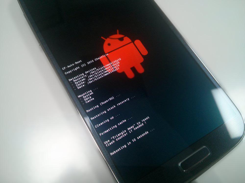 CF-Auto-Root-Script-running-on-phone