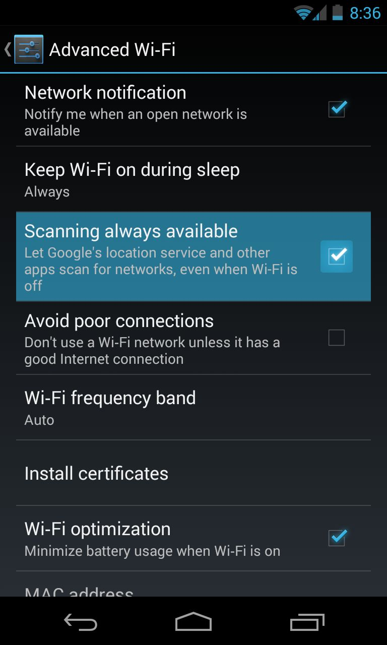 Android-4.3-WiFi-Scanning