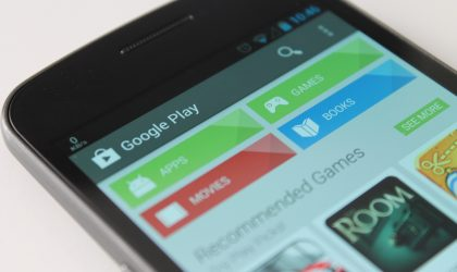 Google Play Store has some new Animations on Android 5.1 update