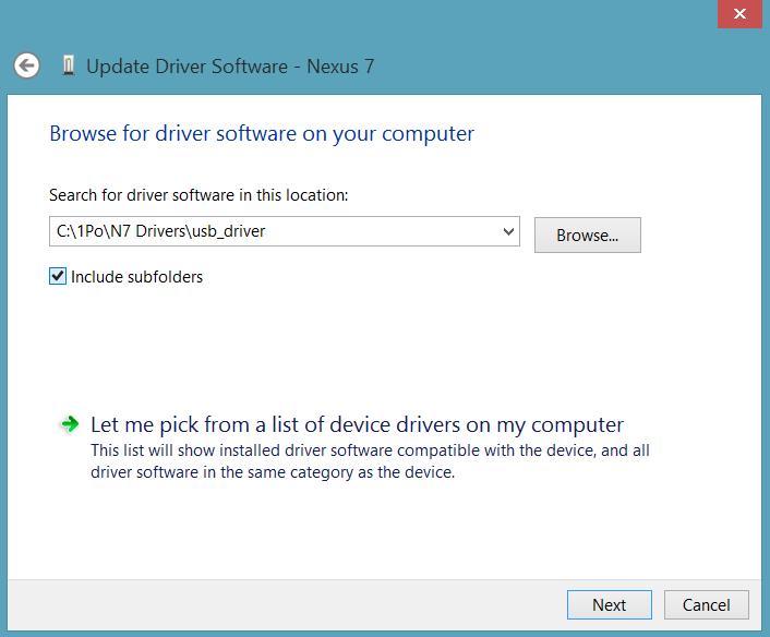 Select-Google-USB-Drivers-Folder
