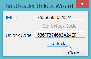 Bootloader Unlock Wizard