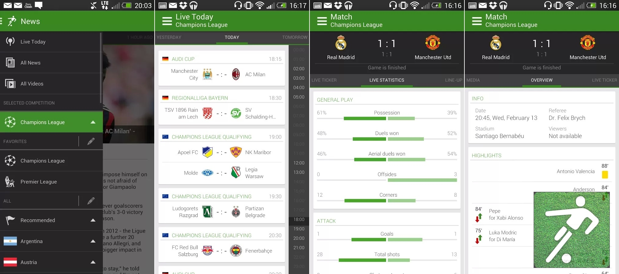 Best Android Apps To Check Live Football (Soccer) Scores