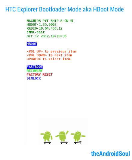 HTC-Explorer-Bootloader-Mode