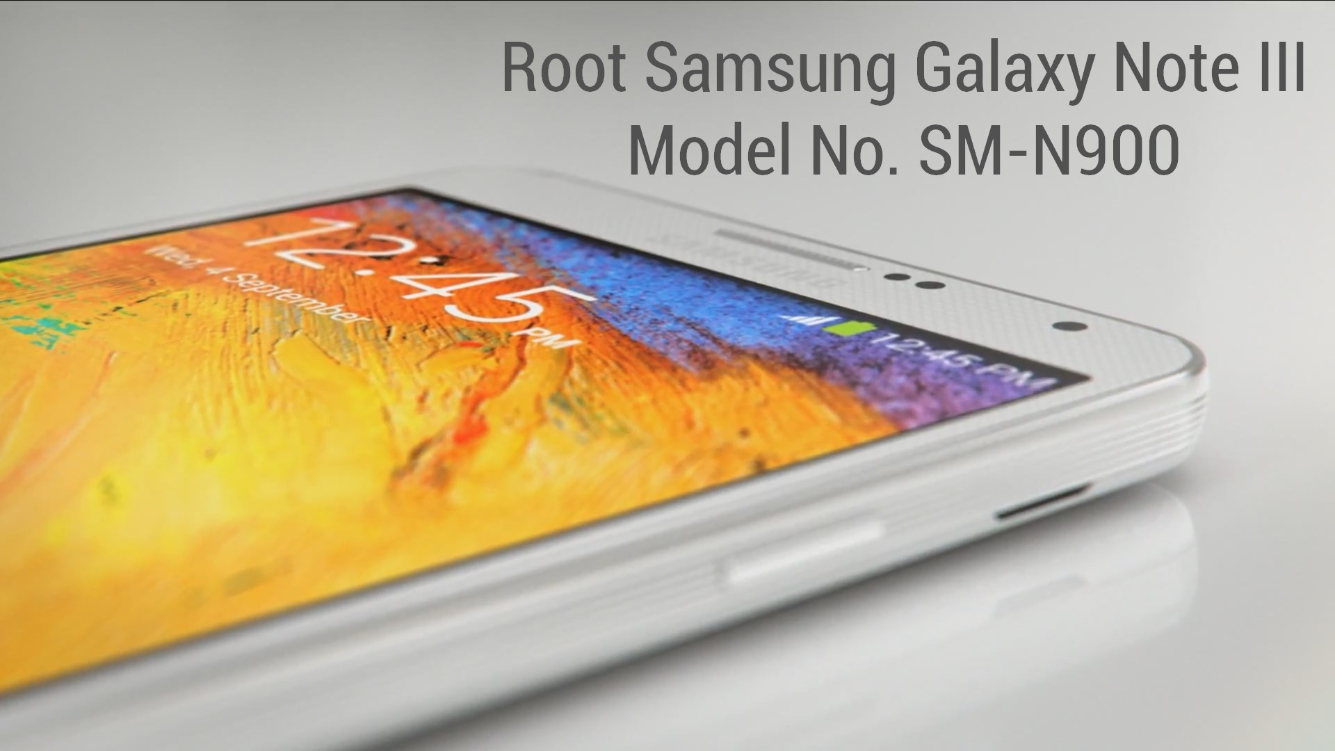 Root Samsung Galaxy Note III SM-N900