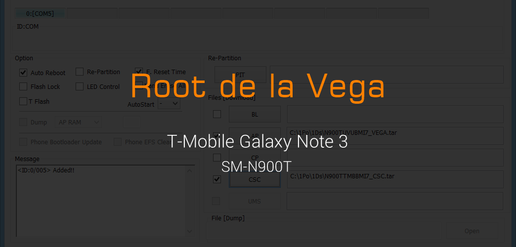 Root T-Mobile Galaxy Note 3 SM-N900T