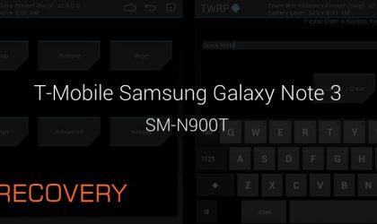 T-Mobile Galaxy Note 3 TWRP Recovery: Downloads and Step-by-step Guide