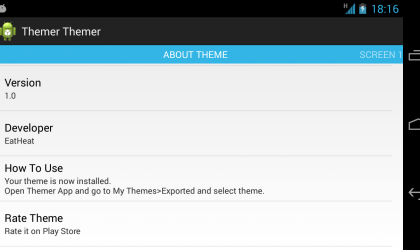 Workaround for publishing themes for Themer on Play Store