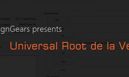 Universal Root de la Vega Tool Launched by @DesignGears