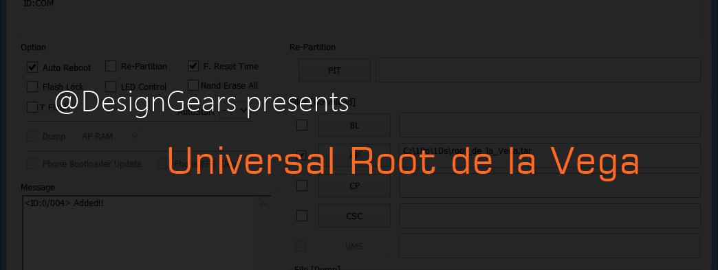 Universal Root De La Vega tool by Designgears