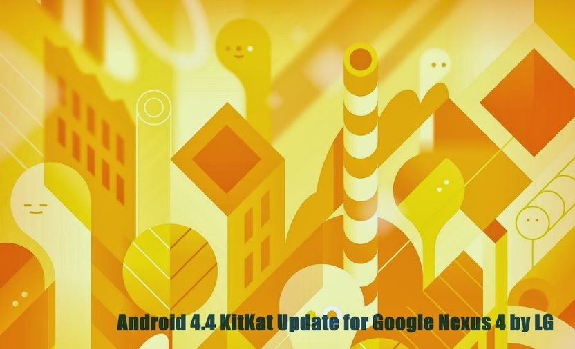 Android 4.4 KiKat Update for LG Nexus 4 E960