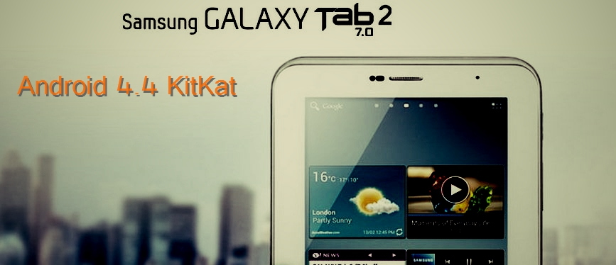 Android 4.4 KitKat Update Galaxy Tab 2 7 inch