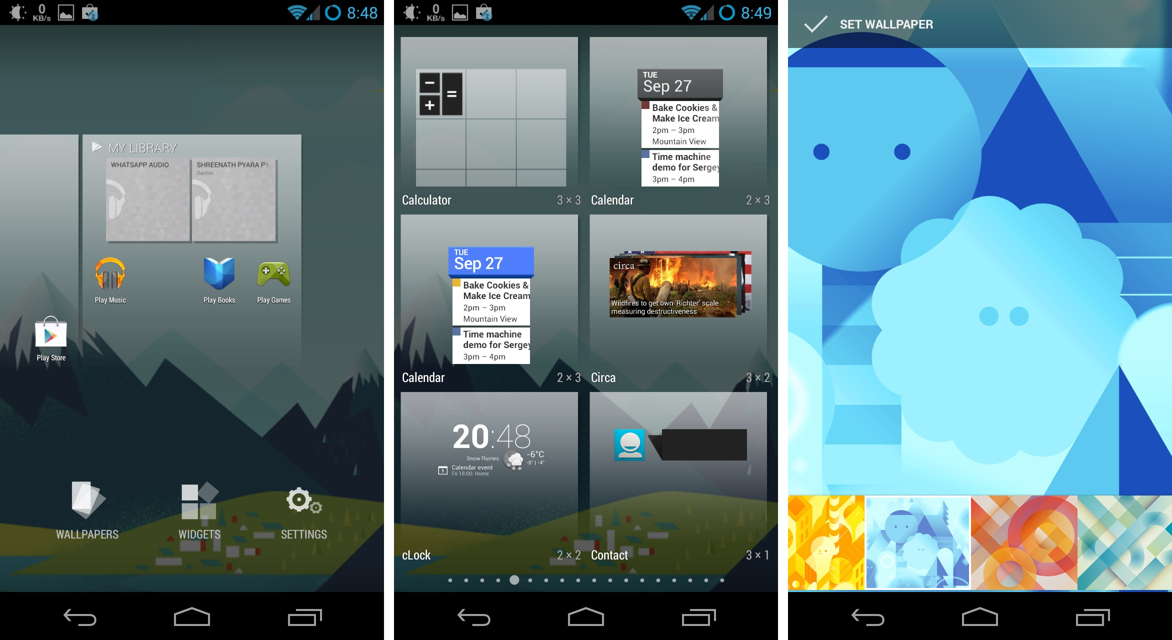 Download Google Home Android 4.4 Launcher APK and new ...