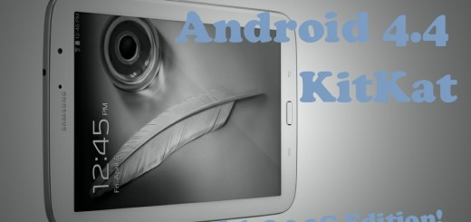 Android 4.4 Update Galaxy Tab 8.0 N5100