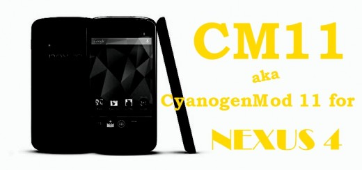 CM11 for Nexus 4 - KitKat