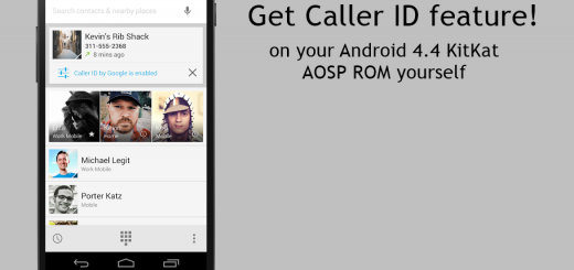 Caller ID feature New Phone App KitKat