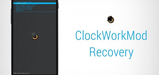 Nexus 5 ClockWorkMod Recovery