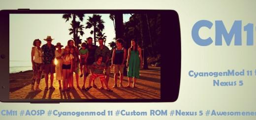 CyanogenMod 11 CM11 Nexus 5