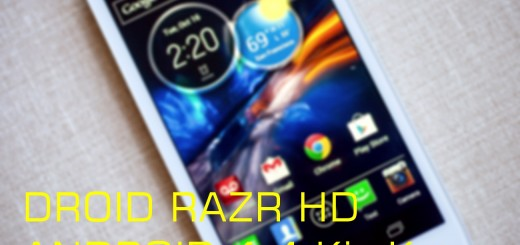 Droid RAZR HD Android 4.4 Kit Kat
