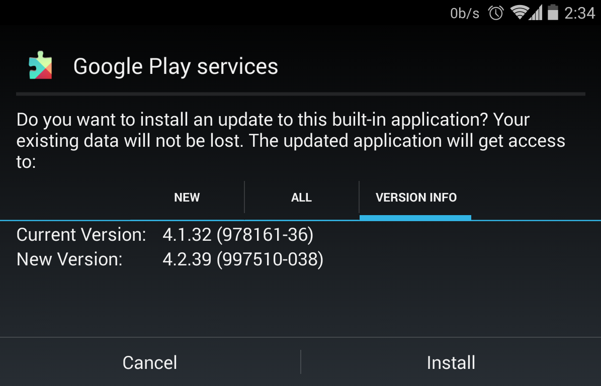 Download Google Play Services APK 4.2.39. February 4 ...