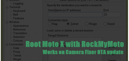 RockMyMoto Root for Moto X for OTA Update Root