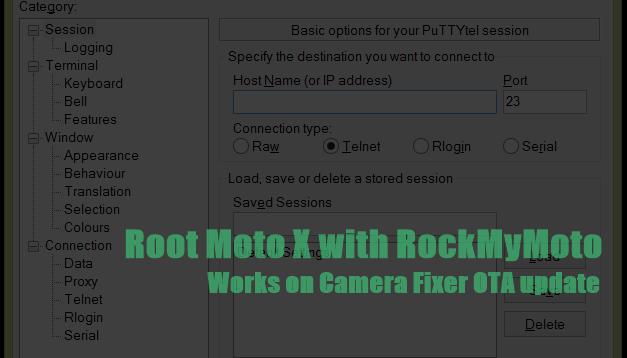 Root Moto X After Ota Camera Update Using Rockmymoto Root Tool