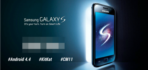 Samsung Galaxy S I9000 Android 4.4 KitKat