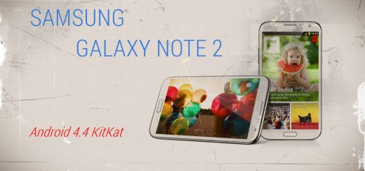 Sasmung Galaxy NOTE 2 Android 4.4 KitKat Update