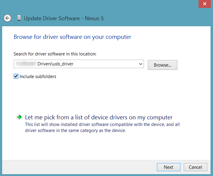[GUIDE] Installation du Driver pour Nexus 5 Hammerhead (ADB et Fastboot) [05.11.2013] Select-Google-USB-Drivers-Folder