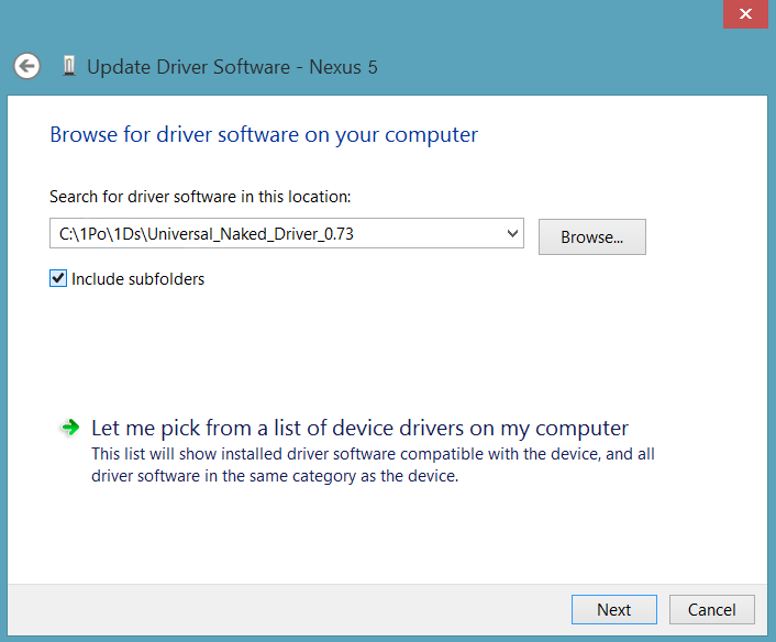 Select-Universal-Naked-Driver-Installation-Folder