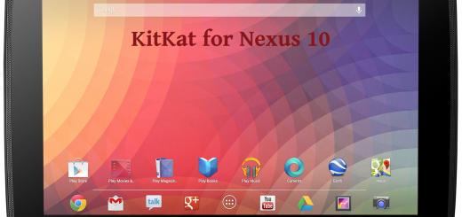 SlimKat Nexus 10