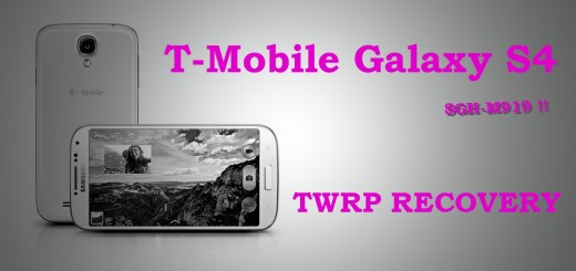 TWRP Recovery T-Mobile Galaxy S4 SGH-M919 Samsung