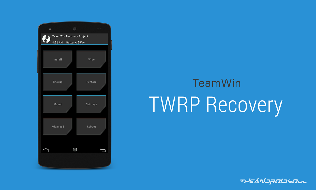 Latest TWRP Recovery for Galaxy Note 2 GT-N7100 (Android 4 4