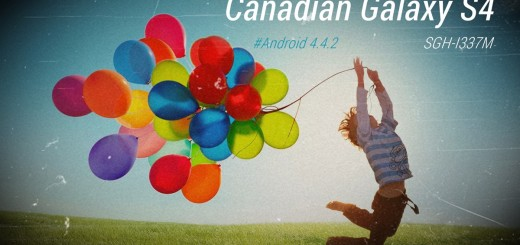 Canadian Galaxy S4 SGH-I337M Android 4.4.2 KitKat