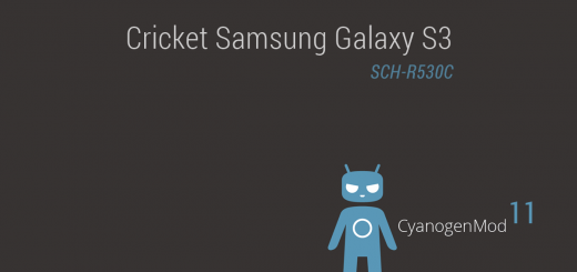 Cricket Galaxy S3 Android 4.4.2 based CM11 ROM