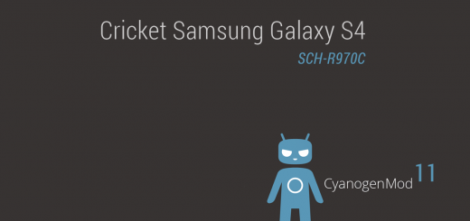 Cricket Galaxy S4 Android 4.4.2 based CM11 ROM