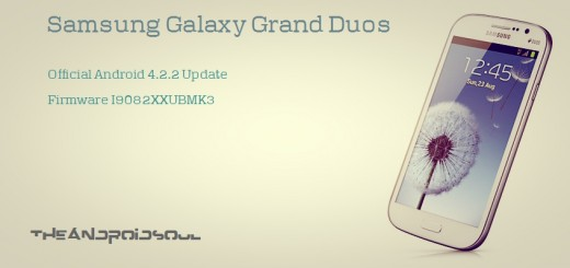 Galaxy Grand Duos Android 4.2.2 Firmware I9082XXUBMK3