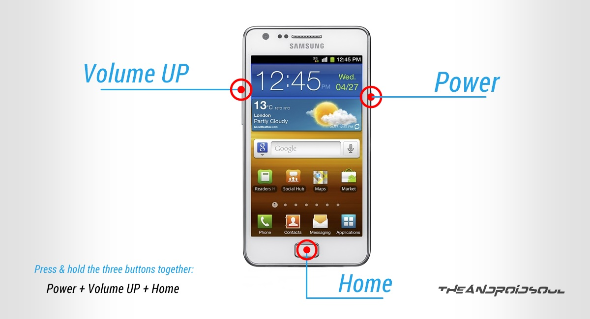 Galaxy S2 Recovery Mode