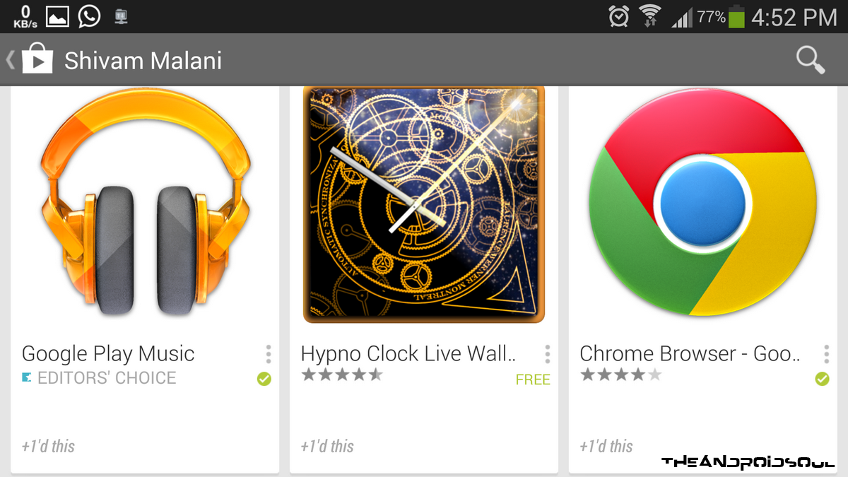 Google Play Store APP 4.5.10 Activity Feature 2