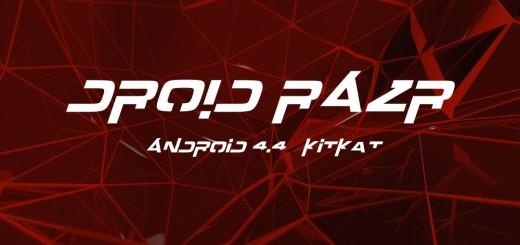 Motorola Droid RAZR Android 4.4 KitKat