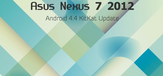 Nexus 7 2012 Android 4.4 KitKat CM11