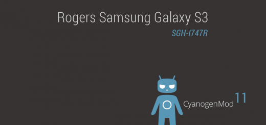 Rogers Galaxy S3 Android 4.4.2 based CM11 ROM