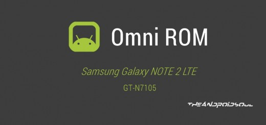 Samsung Galaxy NOTE 2 Android 4.4.2 KitKat Update with Omni ROM
