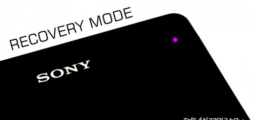 Sony Xperia Recovery Mode