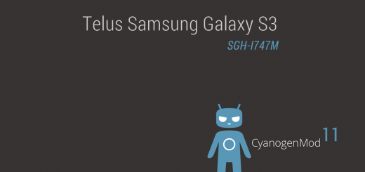 Telus Galaxy S3 Android 4.4.2 based CM11 ROM