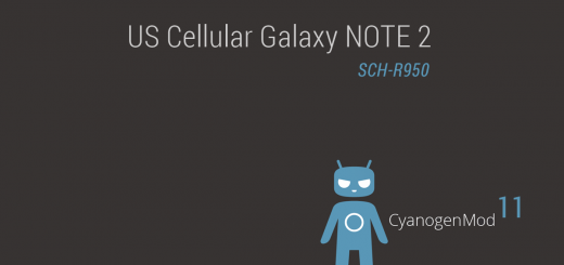 US Cellular Galaxy NOTE 2 Android 4.4.2 based CM11 ROM