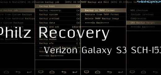 Verizon Galaxy S3 Philz