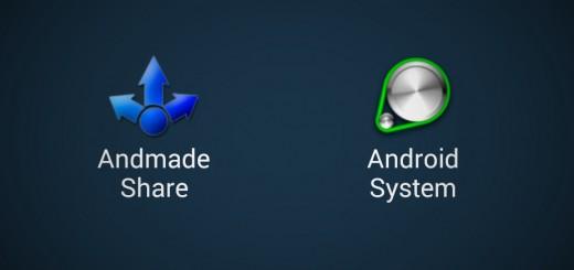 Choose Andmade Share App
