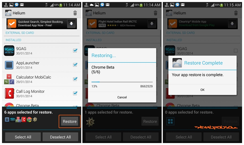 Helium-Android-App-Restore-Apps-Process