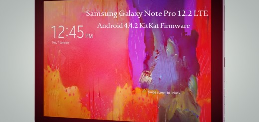 Samsung Galaxy Note Pro 12.2 LTE Android 4.4 KitKat FIrmware