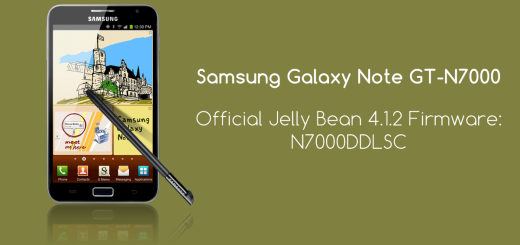 Samsung Galaxy Note stock firmware 4.1.2
